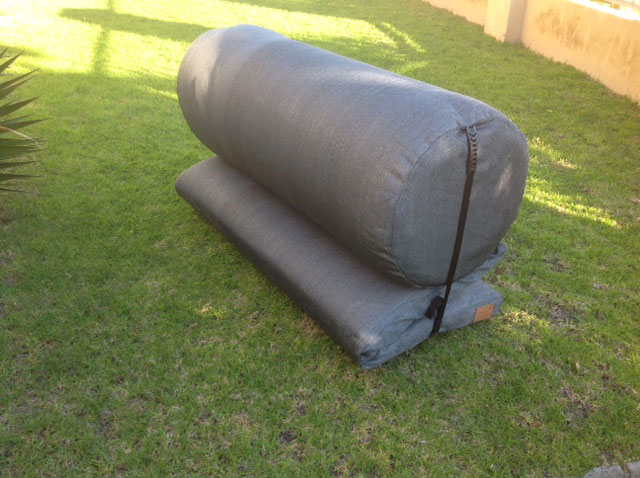 Outdoor Daybed Cushion folded