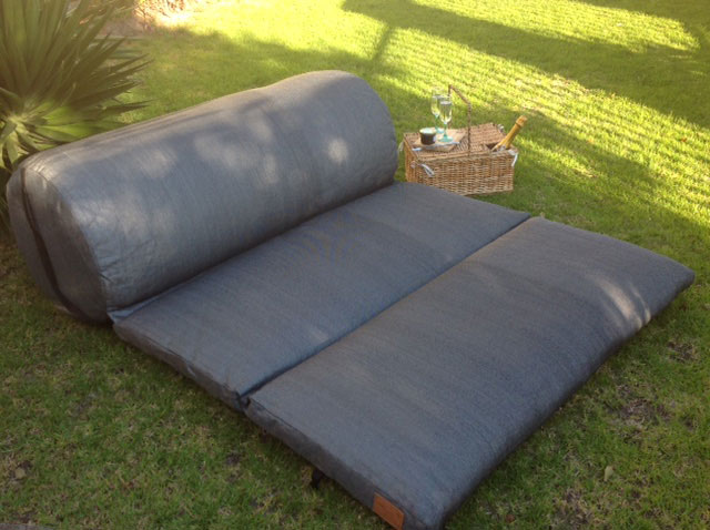 Outdoor Daybed Cushion open